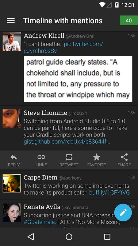 Plume for Twitter 6.26.1 Screen 8