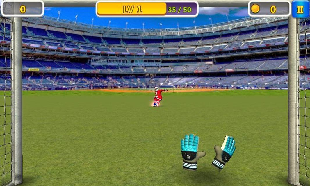 Android Super Goalkeeper - Soccer Game Screen 2