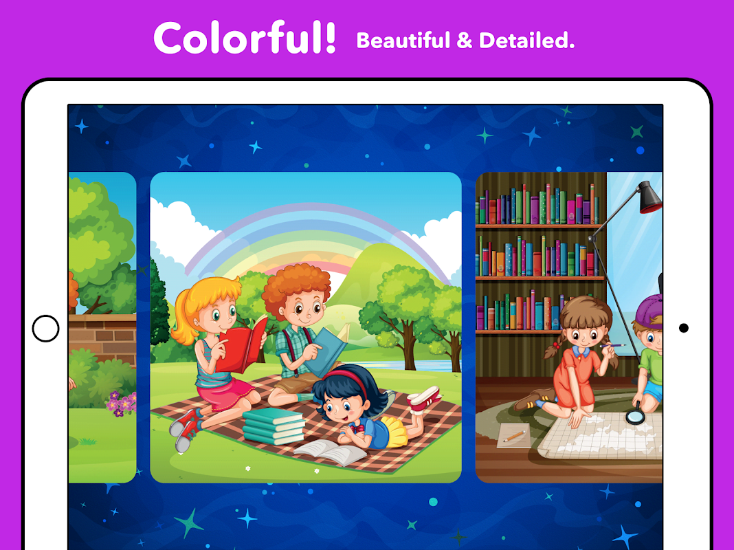 Android Kids Puzzles - Kids games 1, 2, 3, 4, 5 years old Screen 7