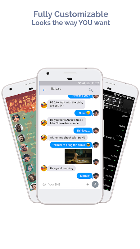 Android Mood Messenger - SMS & MMS Screen 9