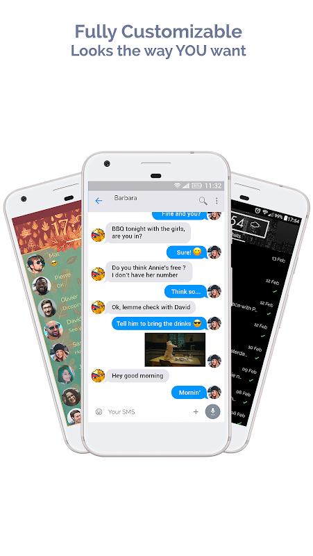 Mood Messenger - SMS & MMS 1.78n Screen 9
