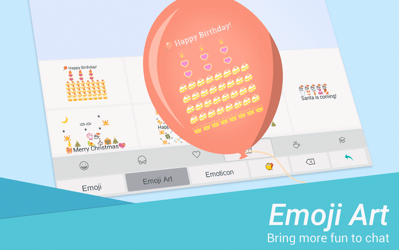 TouchPal Emoji Keyboard 6.1.4.5 Screen 4
