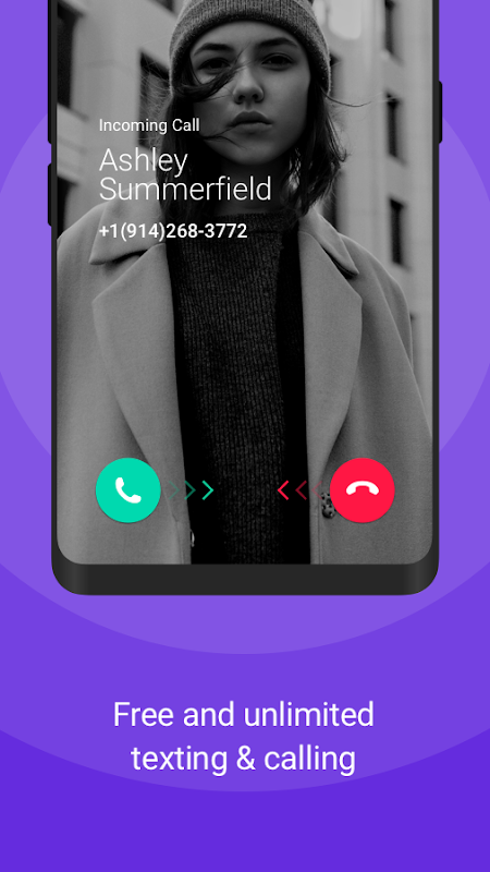 TextNow - Free US Phone Number 6.11.0.1 Screen 1