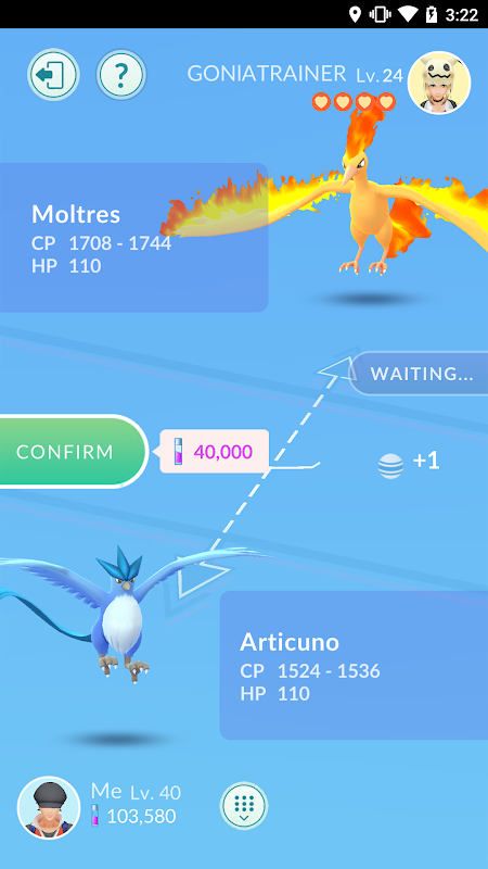 Android Pokémon GO Screen 7