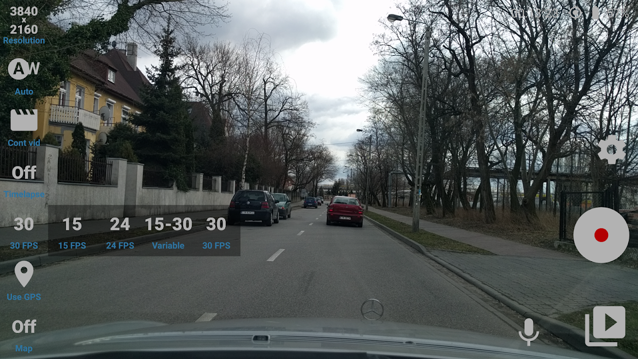 Android Car Camera Pro Screen 5