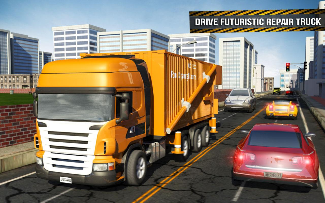 Pothole Repair Heavy Duty Truck: Road Construction 1.3 Screen 8