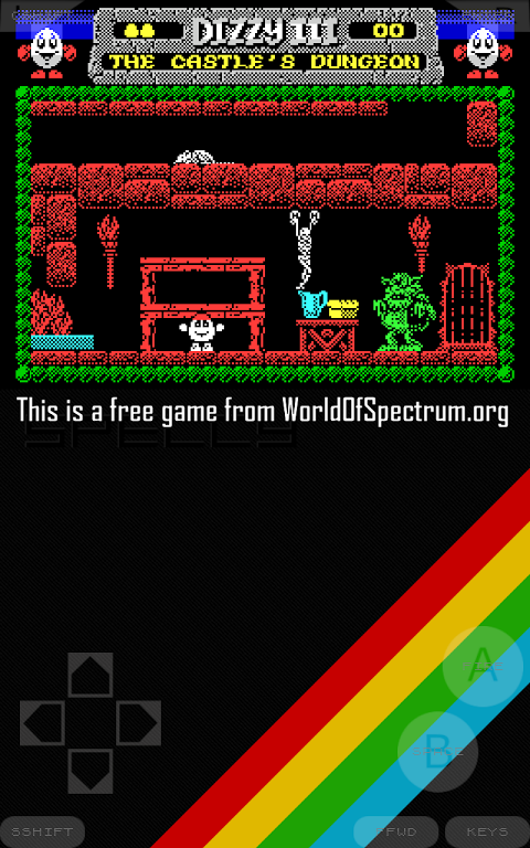 Android Speccy - ZX Spectrum Emulator Screen 11