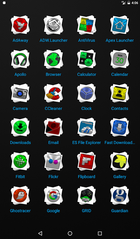 Android Stacks Icon Pack v4.2 Screen 17
