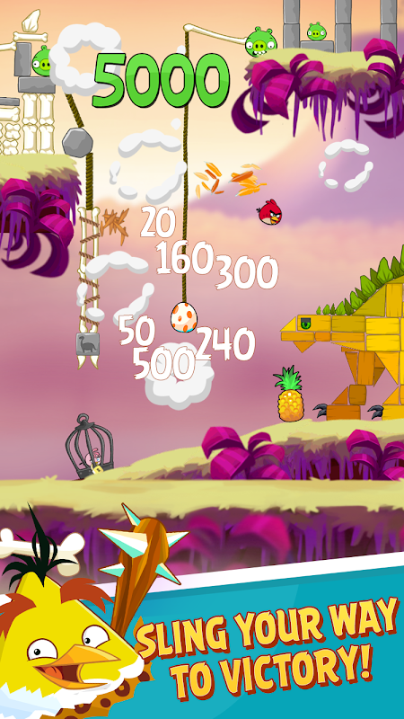 Android Angry Birds Screen 1