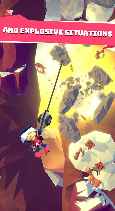 Android Hang Line: Mountain Climber Screen 13