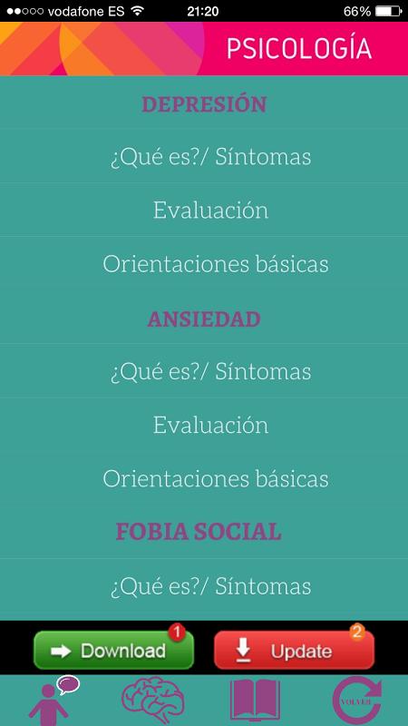 Psicología y Logopedia 5.0.0 Screen 5