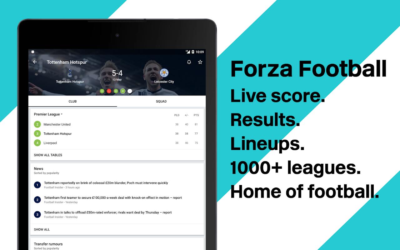 Forza Football - Live scores 4.2.8 Screen 5