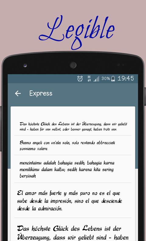 Script fonts for FlipFont APKs | Android APK