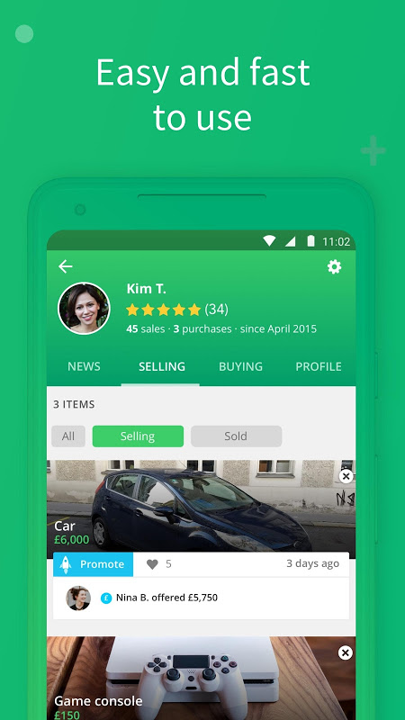 Shpock - Local Marketplace. Buy, Sell & Make Deals 7.2.3 Screen 1