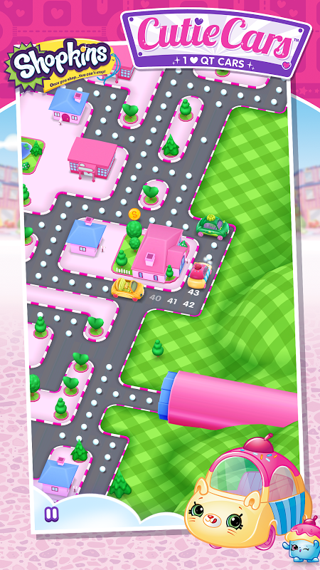 Android Shopkins: Cutie Cars Screen 1
