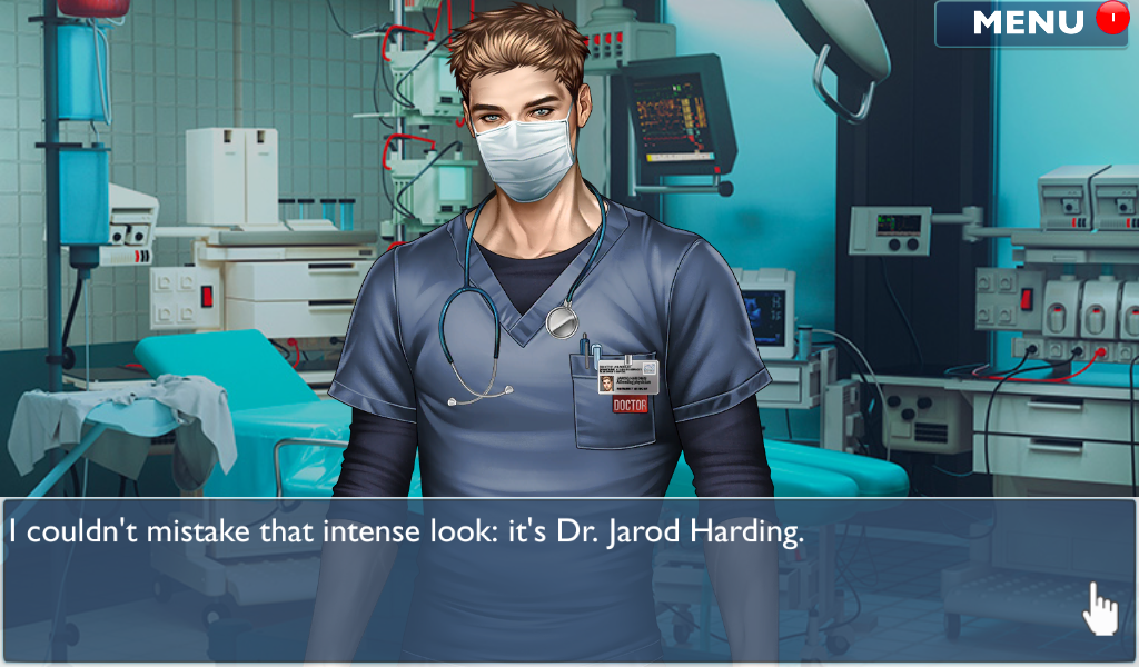 Android Is it Love? Blue Swan Hospital - Choose your story Screen 18