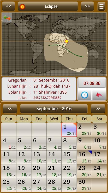 Sun & Moon Calendar v3.6.0 Screen 9