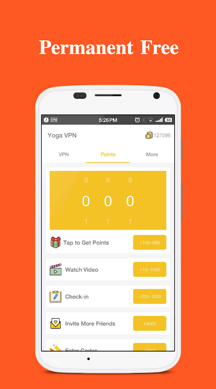 Yoga VPN - Free Unlimited & Secure Proxy & Unblock 4.1.031 Screen 2