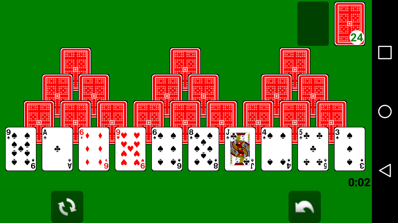 Solitaire 1.1.2 Screen 3
