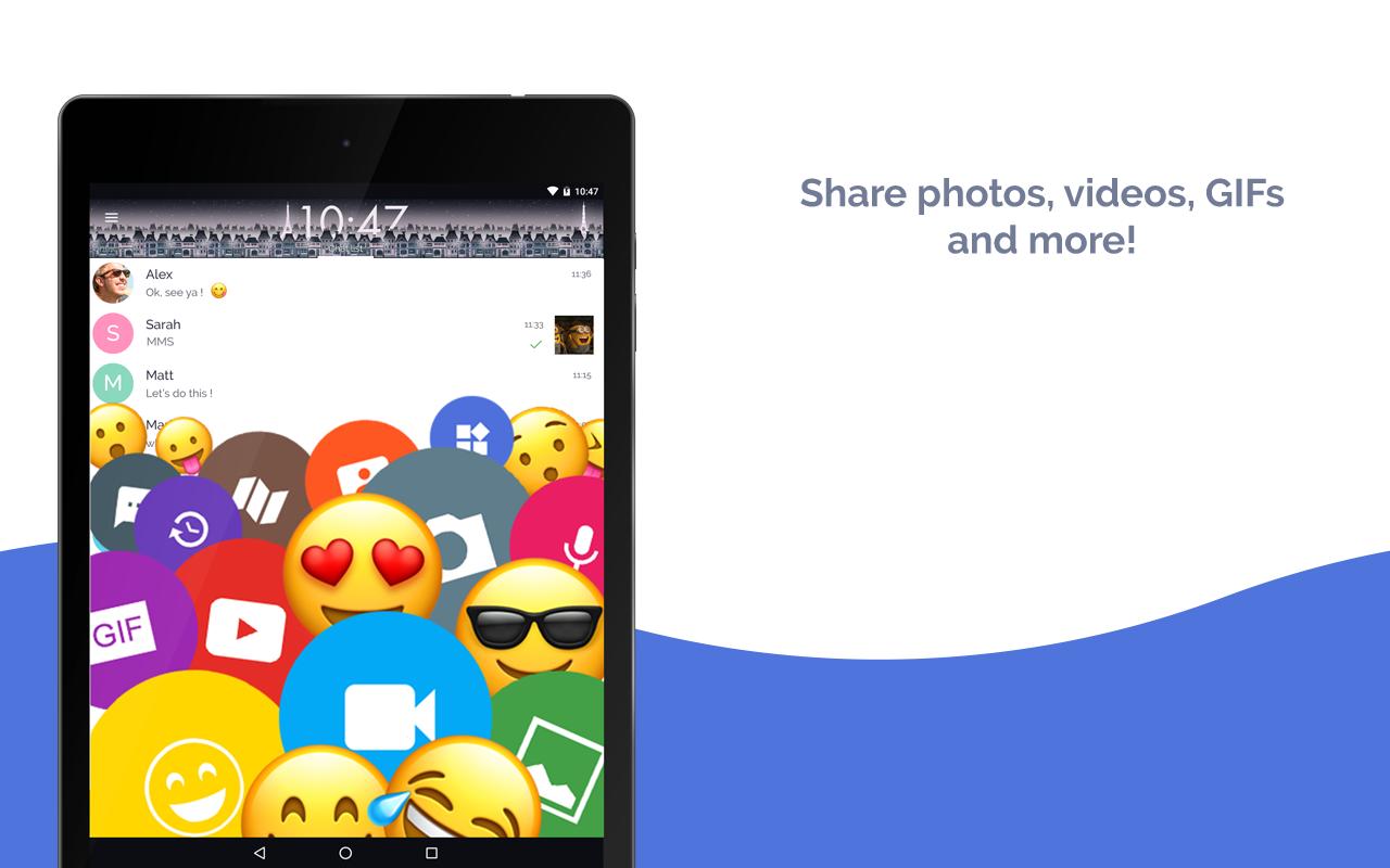 Mood Messenger - SMS & MMS 1.78n Screen 2