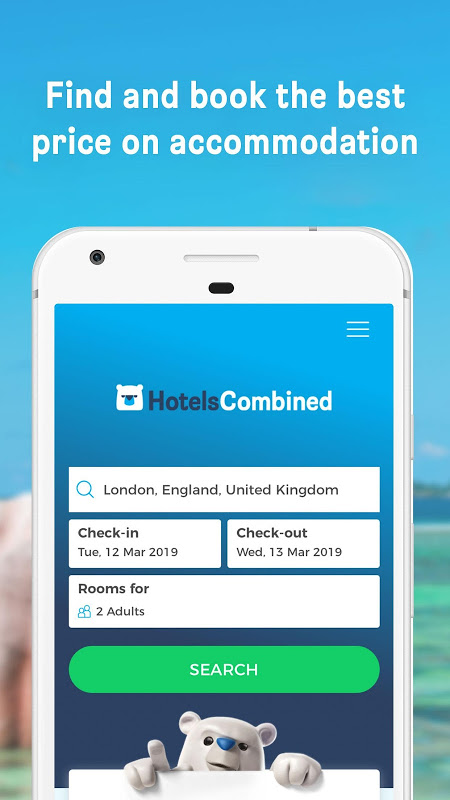 Hotels Combined - Cheap deals 5.0.54 Screen 5