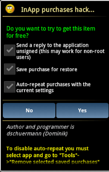 Lucky Patcher 8.3.7 Screen 2