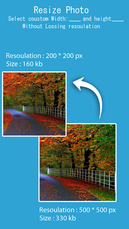 Photo Resizer - Pictures resizer 1.0 Screen 4