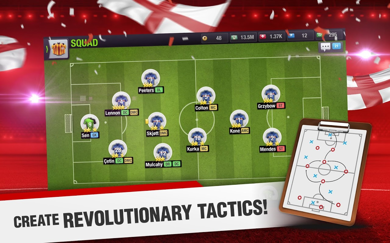 Android Top Eleven 2018 - Be a Football Manager Screen 10
