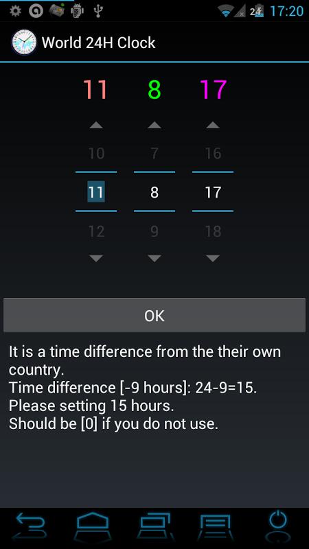 24 H Analog World Clock Free 1.0.5 Screen 3