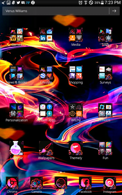 Android Hearts on Fire Screen 4