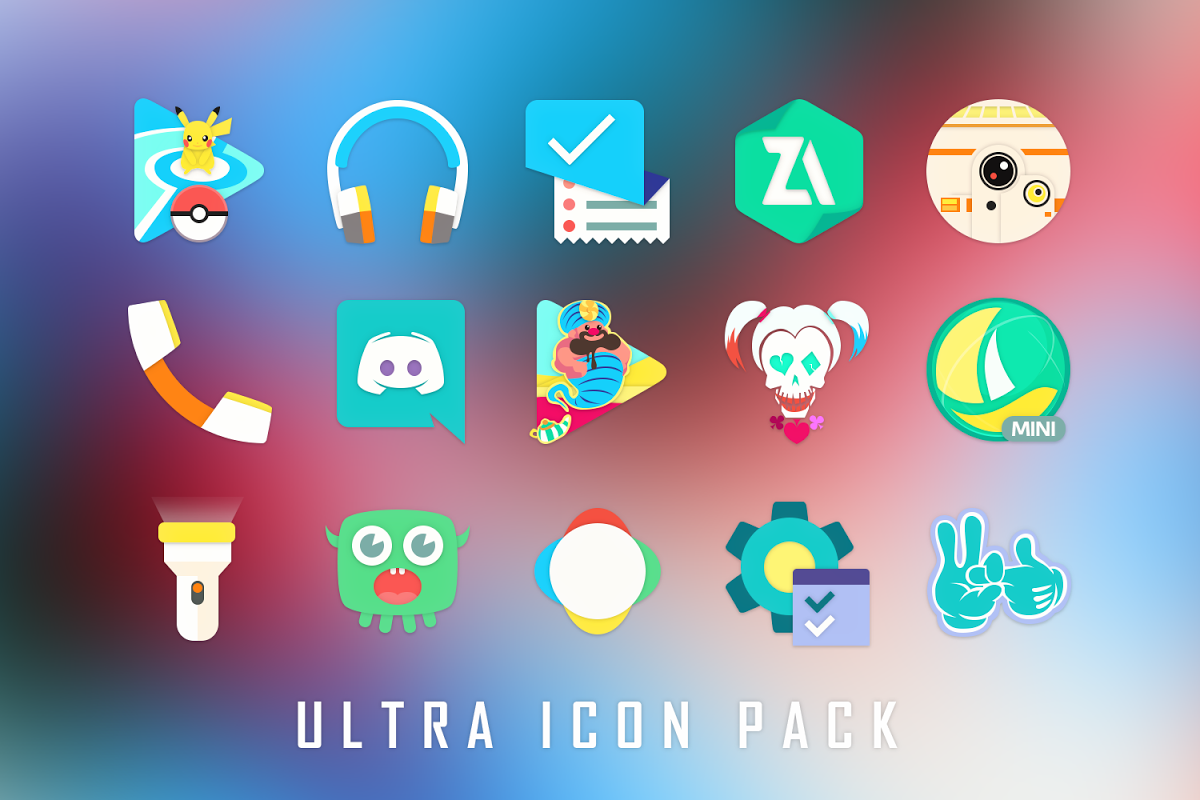 Android Ultra Icon Pack Screen 11