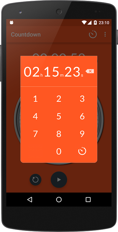 Chronometer 2.4 Screen 4