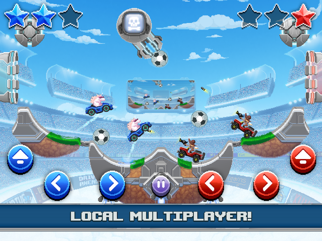 Android Drive Ahead! Sports Screen 1