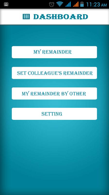 Next To Do Reminder 2.3 Screen 1