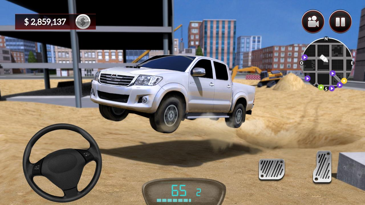 Android Drive for Speed: Simulator Screen 3