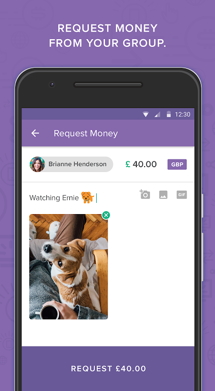 Android Circle Pay — Send money free Screen 3