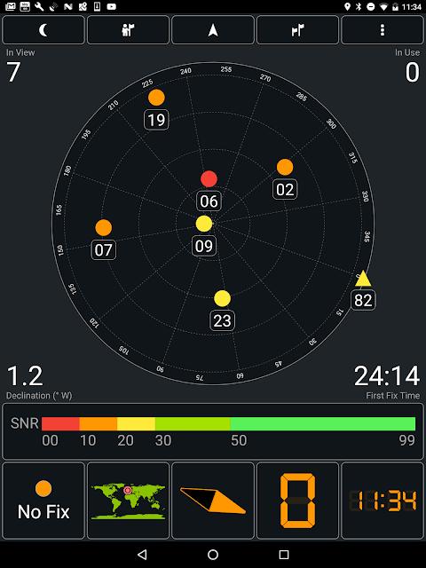 GPS Test 1.5.8 Screen 9