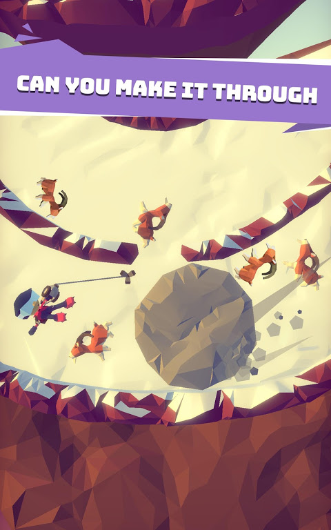 Android Hang Line: Mountain Climber Screen 5