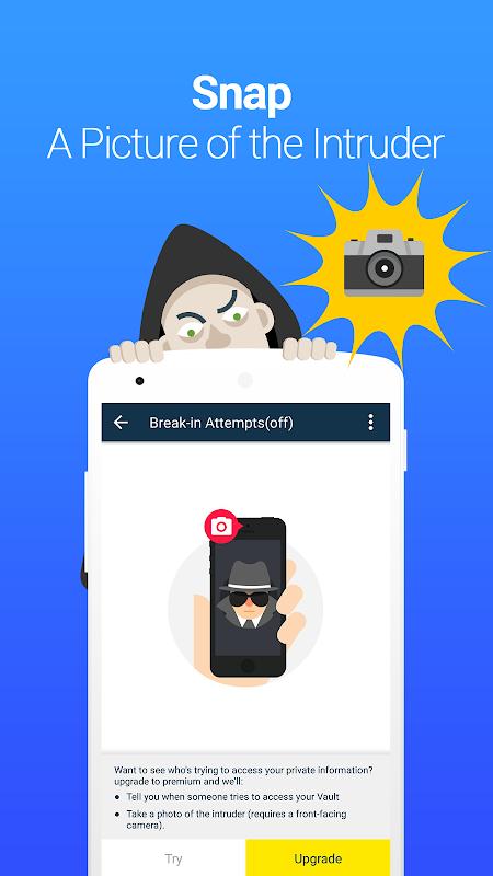 Vault-Hide Pics & Videos,App Lock, Free backup 6.8.12.80 Screen 3