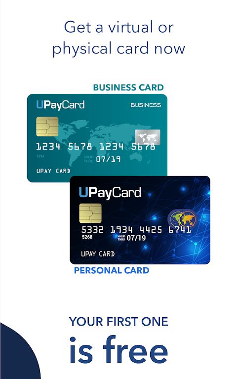 UPayCard 2.1 Screen 2