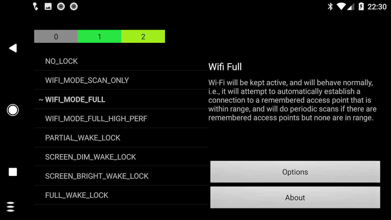 Wake Lock - PowerManager 2.5-f Screen 4