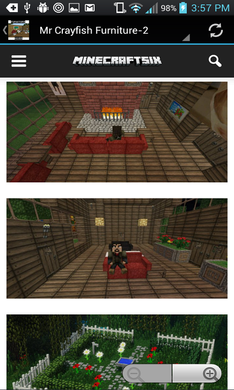 Android Furniture Mods For Minecraft Screen 3