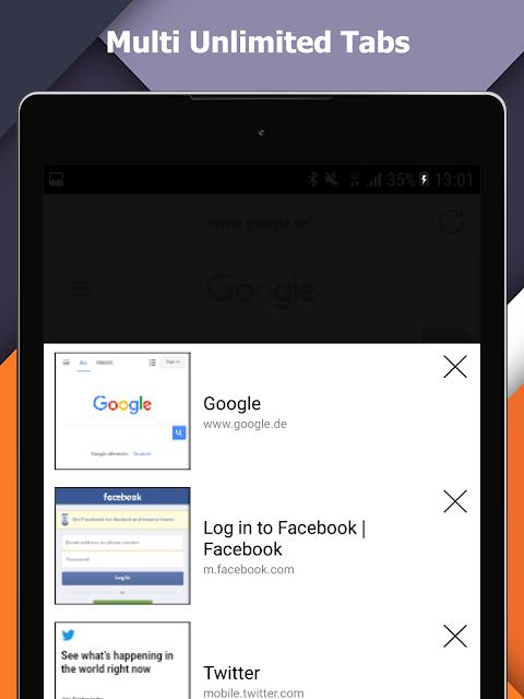 Incognito+ Pro fast private anonymous Browser 105 Screen 8