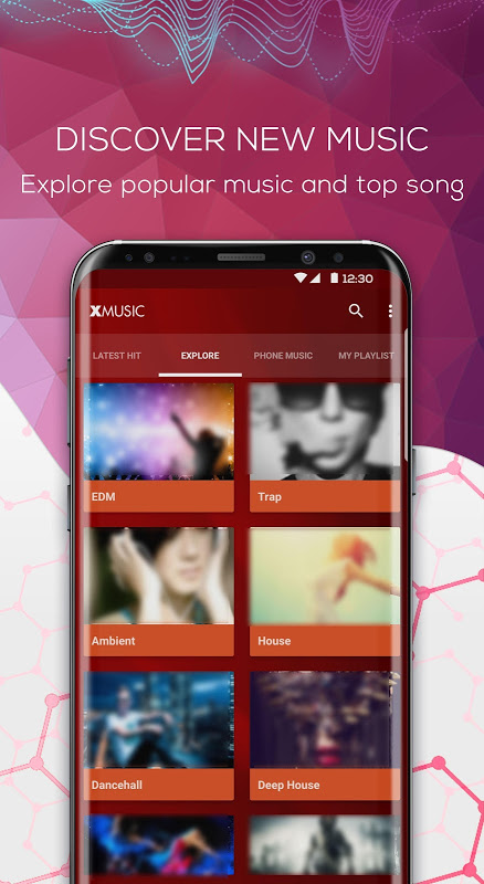 Music Box: MP3 Player, Equalizer & Song Streaming 1.0.9 Screen 1