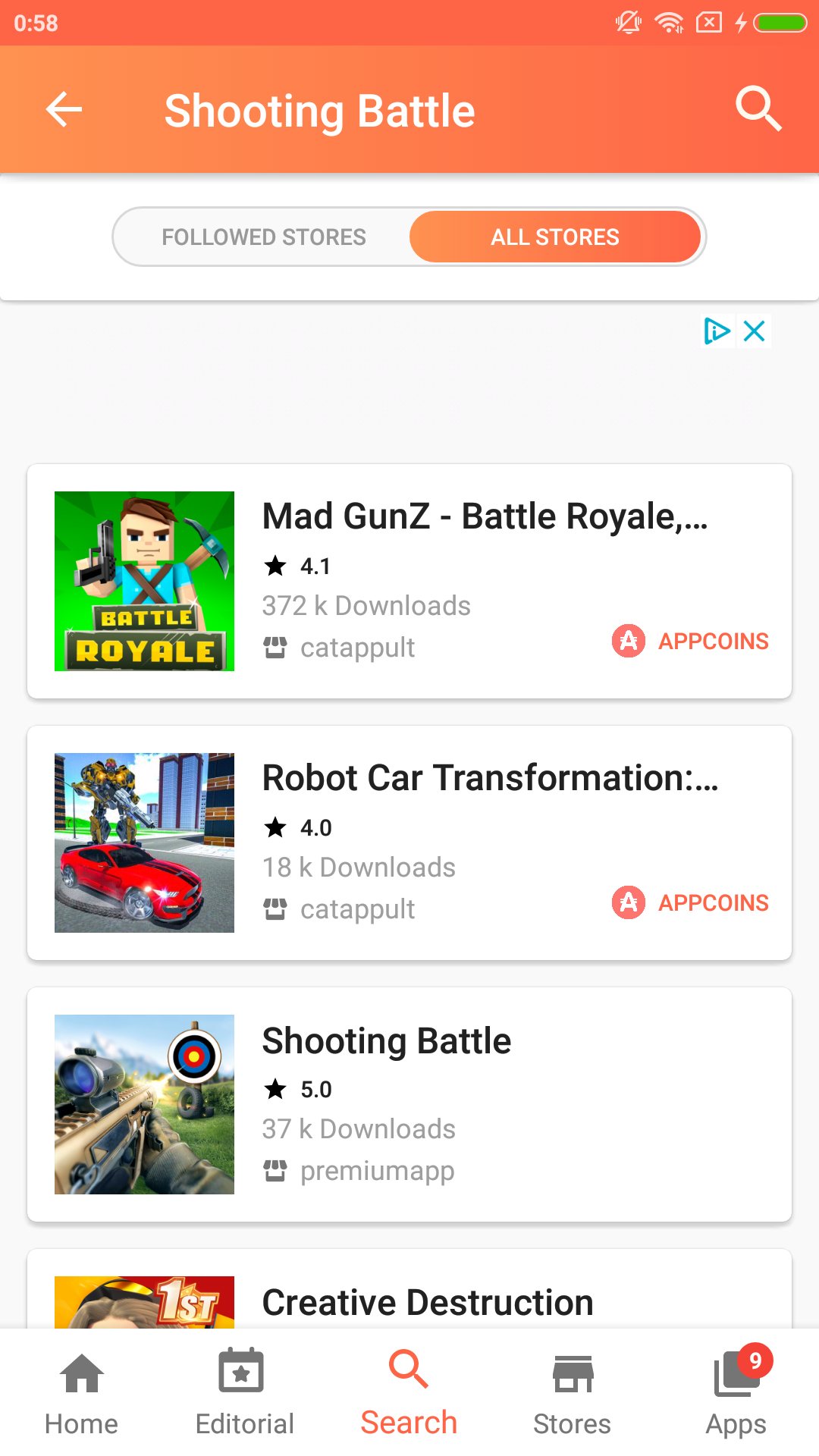Aptoide Dev 9.9.6.1.20191002 Screen 8