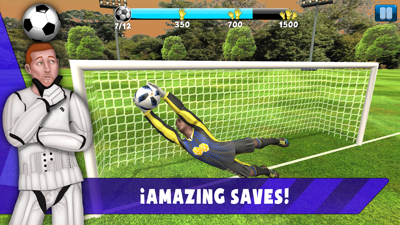 Android Save! Hero - Goalkeeper Football Game 2019 Screen 1