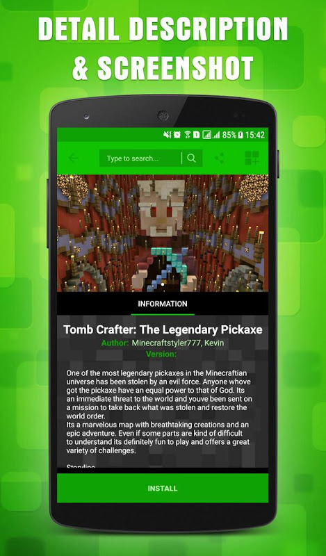 Maps for Minecraft PE 1.11.1 Screen 2