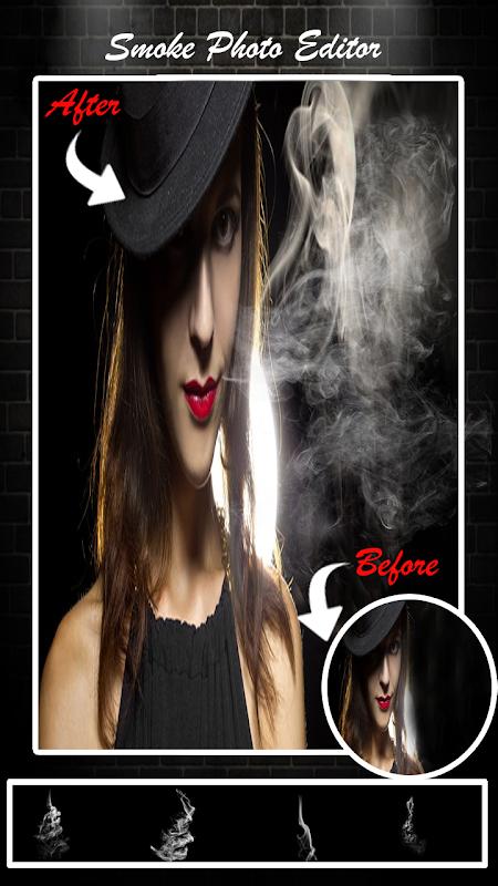 Smoke Photo Editor - Real Smoke Effect On Photo 1.1 Screen 3