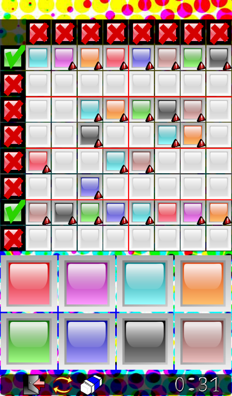 Android Sudoku Frenzy Puzzle Screen 2