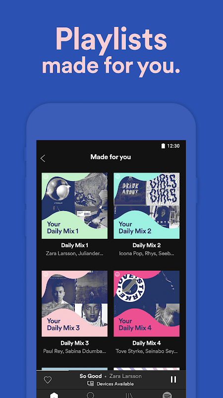 Android Spotify Music Screen 10